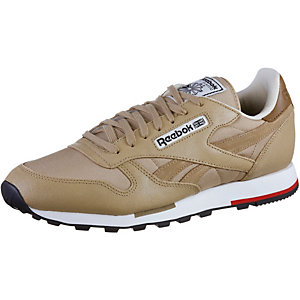 Reebok CL Leather CASUAL Sneaker Herren beige