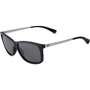 Armani 0EA4023 Sonnenbrille schwarz/silberfarben
