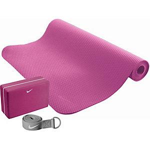 Nike Yoga Set pink/grau