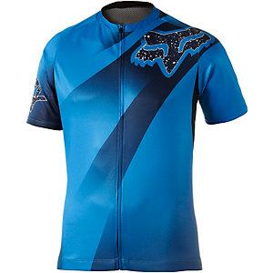 Fox Livewire Descent Fahrradtrikot Herren blau