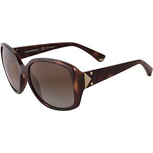 Armani 0EA4018 Sonnenbrille braun/goldfarben