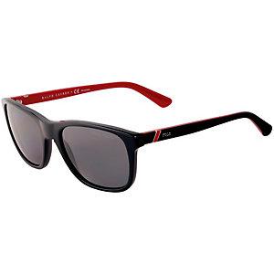 Polo Ralph Lauren Sonnenbrille schwarz/rot