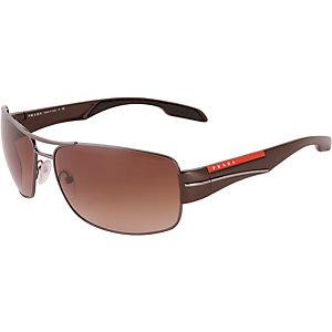 Prada Linea Rossa Linea Rossa Sonnenbrille schwarz/braun