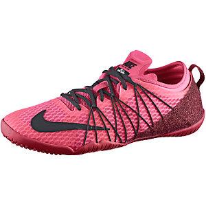 Nike Free 1.0 Cross Bionic Fitnessschuhe Damen pink/beere
