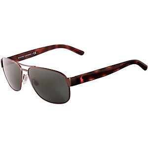 Polo Ralph Lauren Sonnenbrille schwarz/grün