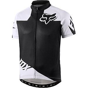 Fox Livewire Fahrradtrikot Herren schwarz/weiß