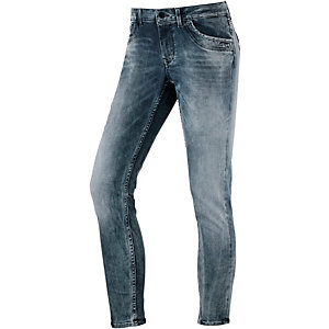 Pepe Jeans Ripple Skinny Fit Jeans Damen grey washed
