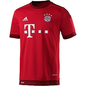 adidas FC Bayern 15/16 Heim Fußballtrikot Herren rot