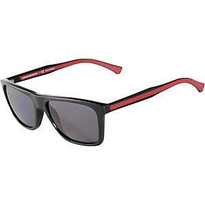 Armani 0EA4001 Sonnenbrille schwarz/rot