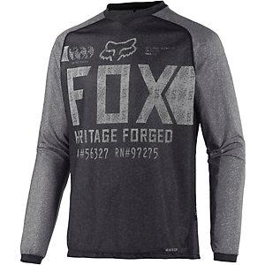 Fox Indicator Fahrradtrikot Herren schwarz/grau