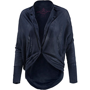 KAMAH Inci Strickjacke Damen navy