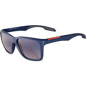 Prada Linea Rosso Linea Rossa Sonnenbrille schwarz/blau