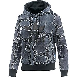 adidas Hoodie Damen schwarz/grau