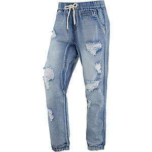all about eve boyfriend jeans damen destroyed denim im. Black Bedroom Furniture Sets. Home Design Ideas