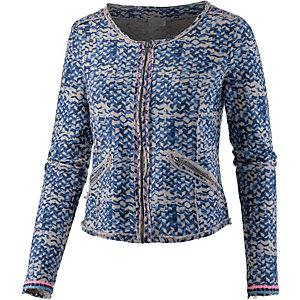 Culture Blazer Damen blau/weiß