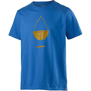 Mountain Hardwear Floating MTN Printshirt Herren blau
