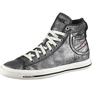 DIESEL Exposure Sneaker Damen schwarz/grau