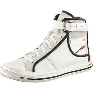DIESEL S-Bucklet Sneaker Damen weiß/schwarz