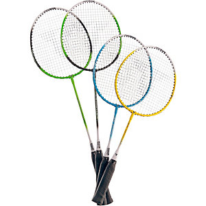 Talbot-Torro Set Family Badminton Set blau/gelb/schwarz
