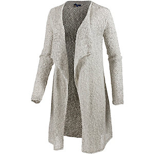 TOM TAILOR Strickjacke Damen grau