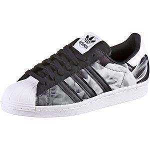 superstar adidas Weiß schwarz