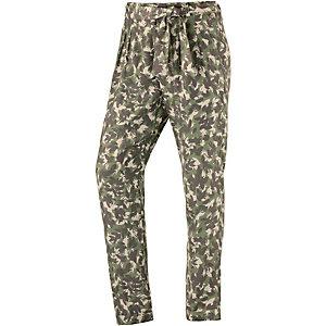 Pepe Jeans Printhose Damen grün/beige