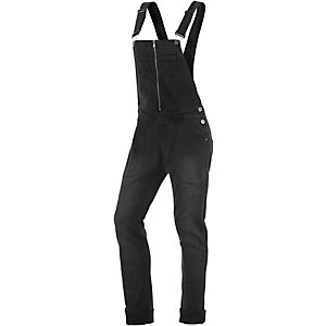 nümph Latzhose Damen black denim