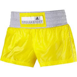 adidas Laufshorts Damen gelb/grau