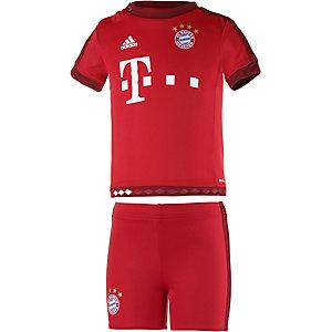 adidas FC Bayern 15/16 Heim Babyset Kinder rot