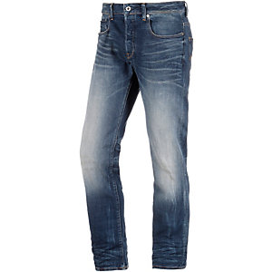 G-Star 3301 Straight Fit Jeans Herren blue denim