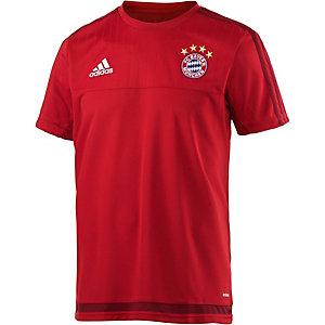 adidas FC Bayern Fußballtrikot Herren rot