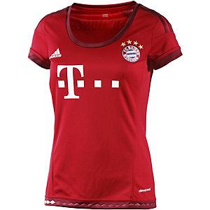 adidas FC Bayern 15/16 Heim Funktionsshirt Damen rot