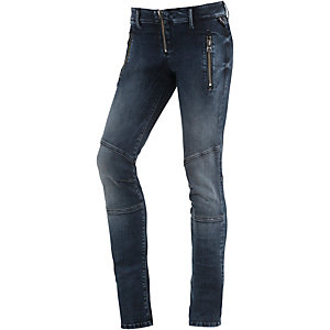 REPLAY Skinny Fit Jeans Damen dark denim