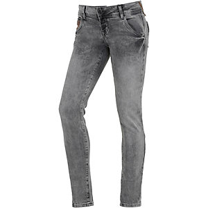 LTB Adelia Skinny Fit Jeans Damen grey denim