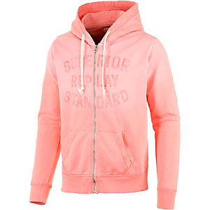 REPLAY Sweatjacke Herren rose