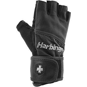 Harbinger Classic Wrist Fitnesshandschuhe schwarz