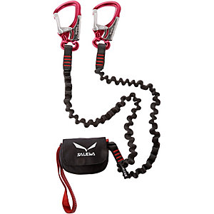 SALEWA Premium Attac Klettersteigset schwarz/rot