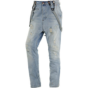 VSCT Brad Slim Fit Jeans Herren light destroyed denim