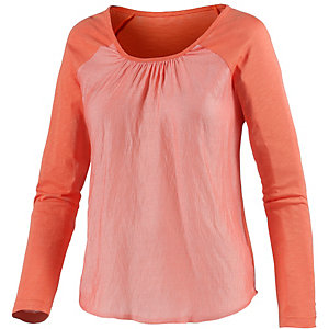 Neighborhood Langarmshirt Damen orange