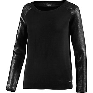 Neighborhood Strickpullover Damen schwarz