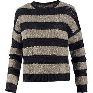 Pepe Jeans Strickpullover Damen schwarz/beige