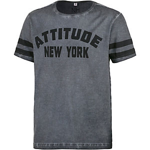Neighborhood T-Shirt Herren grau