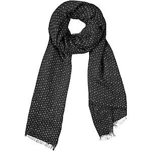 S.OLIVER Schal Damen schwarz/weiß