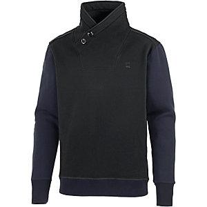 G-Star Sweatshirt Herren schwarz/dunkelblau