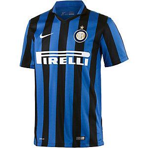 Nike Inter 15/16 Heim Fußballtrikot Herren blau/schwarz