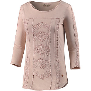 Khujo Langarmshirt Damen rose