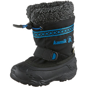 Kamik Hattrick Winterschuhe Kinder anthrazit/blau/schwarz