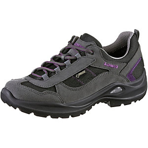 Lowa Stratton GTX Low Wanderschuhe Damen anthrazit/lila