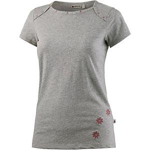 OCK T-Shirt Damen hellgrau mélange