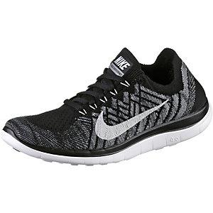 Nike Flyknit Schwarz Weiß